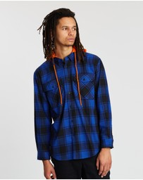 Locale - Check Hooded Shirt