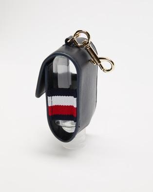 Tommy Hilfiger Gold Logo Hand Sanitiser Key Fob - Accessories (Desert Sky)