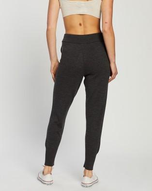 Mcintyre Riley Merino Lite womens Track Pants - Pants (Charcoal)