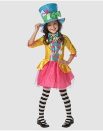 Rubie's Deerfield - Mad Hatter Girl's Deluxe Costume - Kids