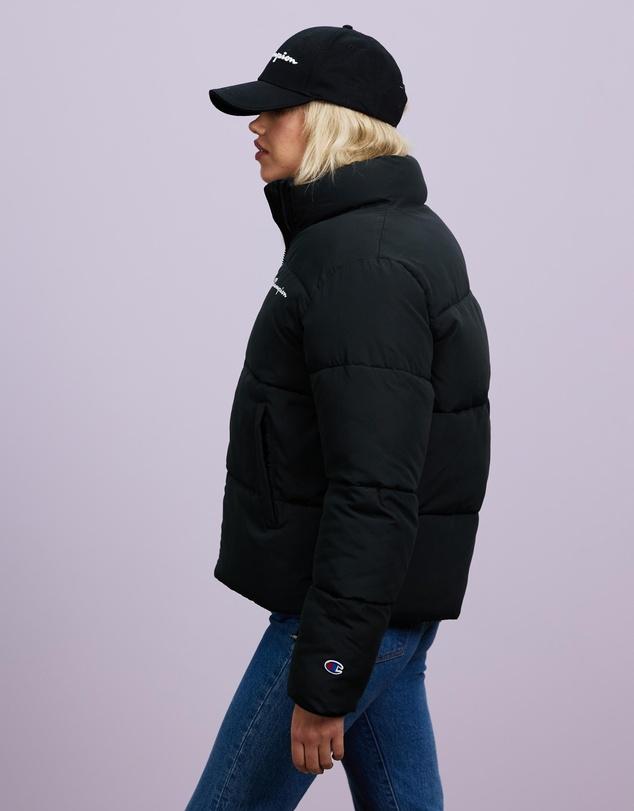 Women Rochester Athletic Puffer Jacket
