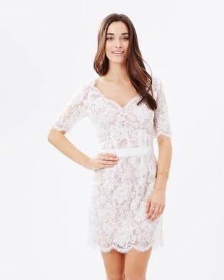 HBSHE – Lyra Lace Dress Ivory