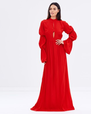 S/W/F – Zoe Dress – Dresses (Red)