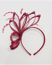 Max Alexander - Structured Sinamay Fascinator