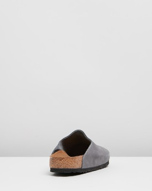 Birkenstock Amsterdam   Unisex - Casual Shoes (Anthracite)