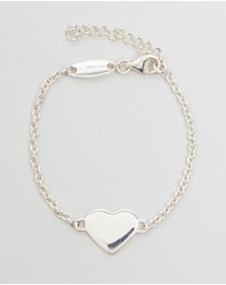 My Little Silver - Glossy Heart Bracelet