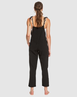 Roxy Womens One Day Without Strappy Jumpsuit - Jumpsuits & Playsuits (Anthracite)