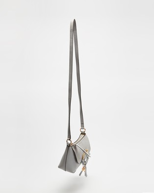 See By Chlo?? - Mini Joan Cross Body Bag - Bags (Artic Ice) Mini Joan Cross-Body Bag