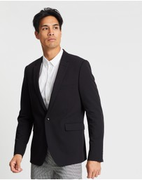 Burton Menswear - Essential Super Skinny Fit Suit Jacket