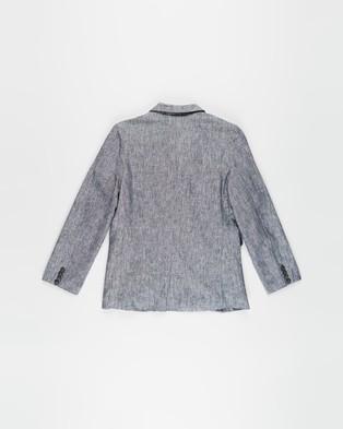 Free by Cotton On Boston Blazer   Teens - Suits & Blazers (Navy Texture)