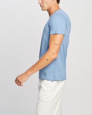 Marcs Marle Brando Crew - T-Shirts & Singlets (Sky Blue)
