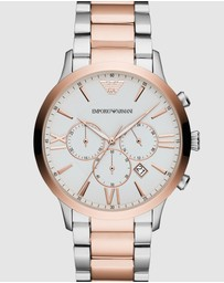 Emporio Armani - Two Tone Chronograph Watch
