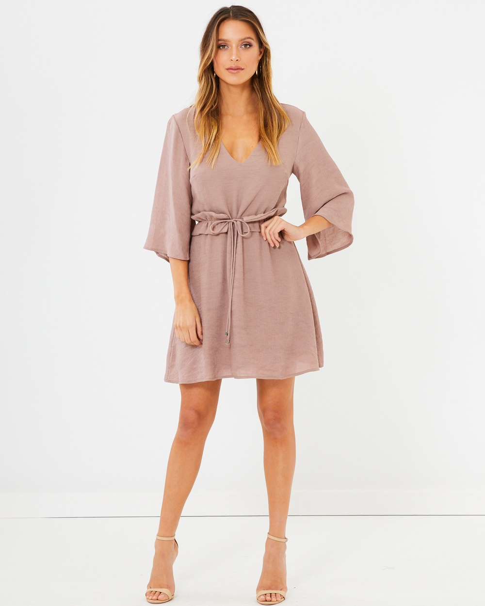 Photo of Tussah Mauve Phoenix Mini Dress - buy Tussah dresses on sale online