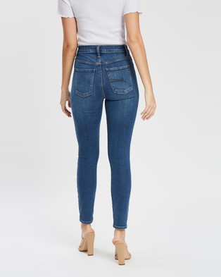 Nobody Denim Cult Skinny Ankle Jeans - High-Waisted (Prime)