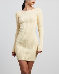 Bec + Bridge - Lyla Knit Long Sleeve Mini Dress