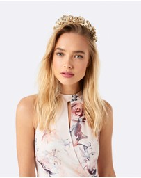 Forever New - Chloe PU Flower Fascinator