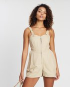 Safari Canvas Playsuit