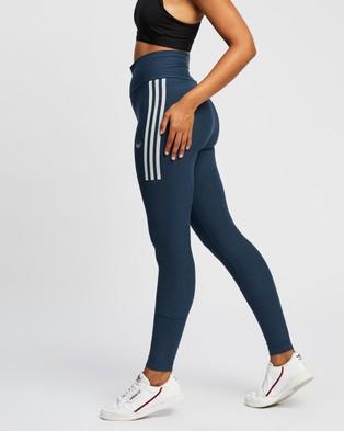 adidas Originals Tights 11 - Full Tights (Crew Navy & White)