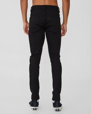 Cotton On - Super Skinny Jeans - Jeans (Jet Black Blow Out) Super Skinny Jeans