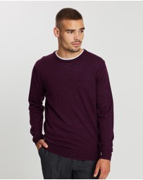 Ben Sherman - Merino Crew Neck Sweater