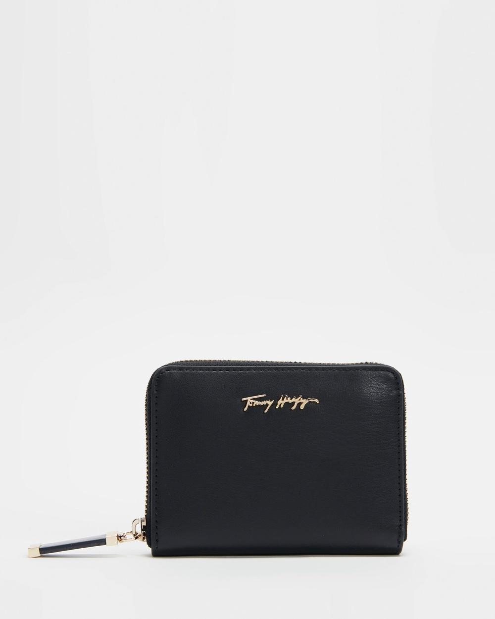 Tommy Hilfiger Iconic Medium Wallet Wallets Desert Sky