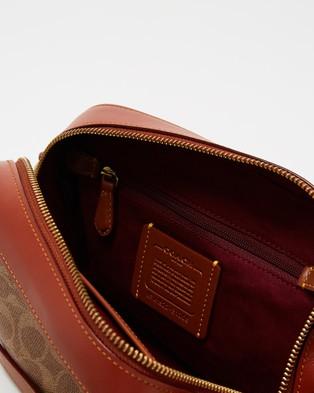 Coach Camera Bag - Bags (Rust)
