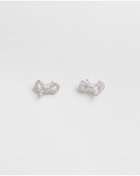 Swarovski - Lifelong Bow Stud Earrings