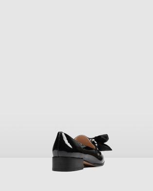 Jo Mercer Brando Loafers Flats BLACK PATENT
