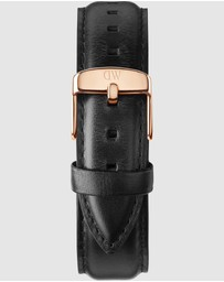 Daniel Wellington - Leather Strap Sheffield 20mm Watch Band - For Classic 40mm