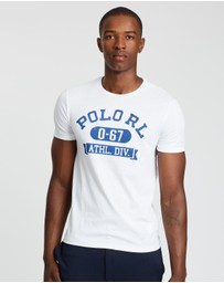 Polo Ralph Lauren - Short Sleeve Custom Slim Fit Jersey T-Shirt