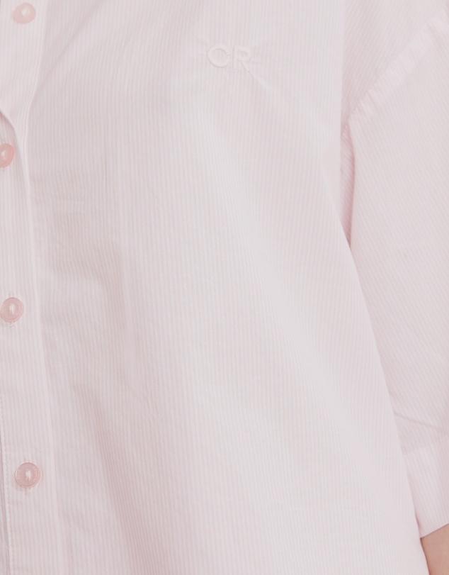 Women Woven Lounge Shirt