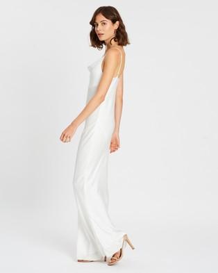 Shona Joy - Luxe Bias Cowl Slip Dress - Dresses (Ivory) Luxe Bias Cowl Slip Dress