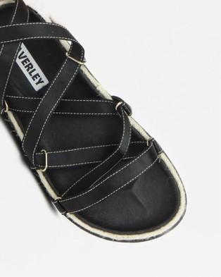 Caverley Chase Sandal - Sandals (Black Satin)