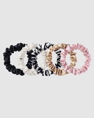 Slip Midi Scrunchies - Beauty (Multi)