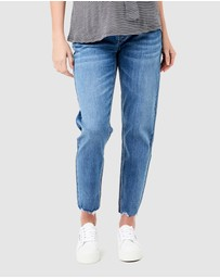 Ripe Maternity - Jamie Raw Edge Jeans