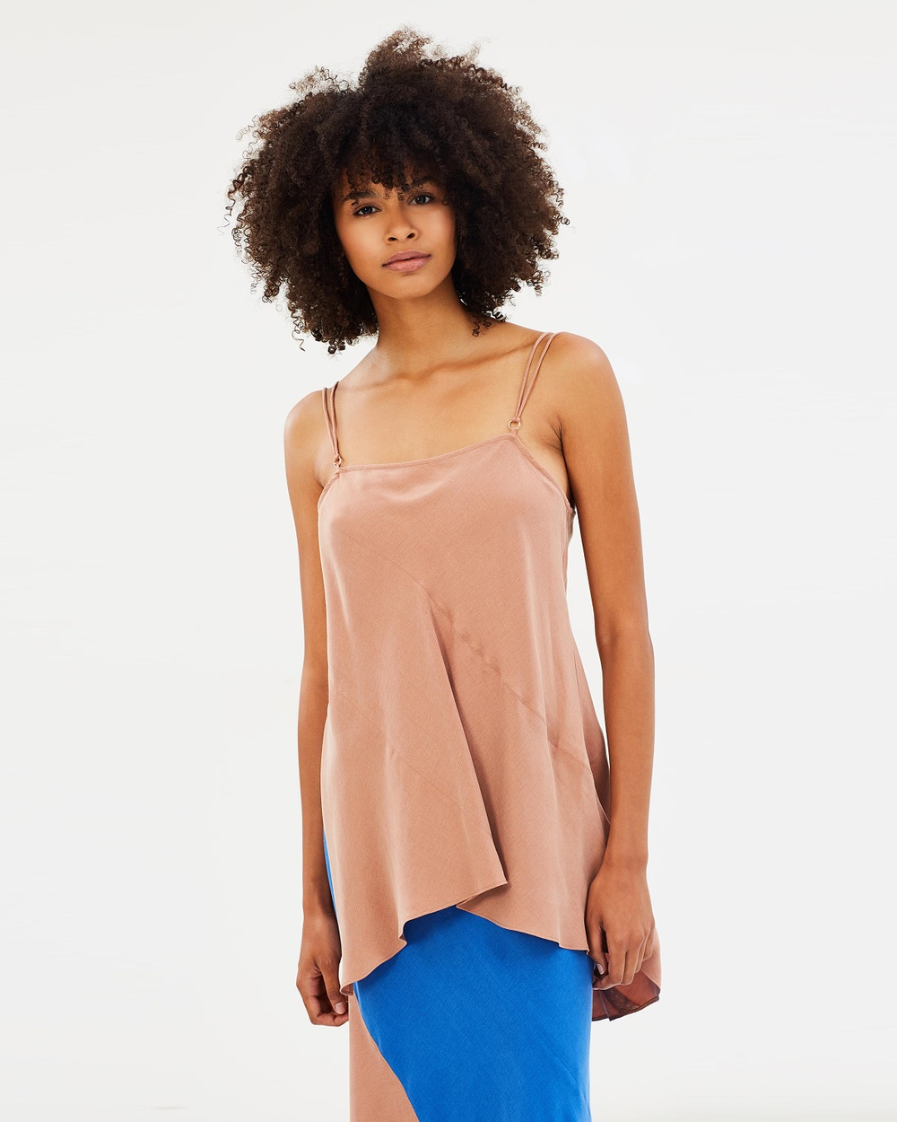 Ginger & Smart Ingrid Top Tops Mocha Ingrid Top