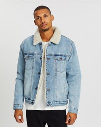 Rolla's - Denim Sherpa Jacket
