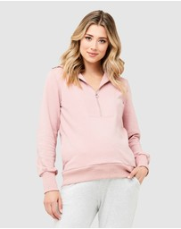 Ripe Maternity - Kyle Zip Jumper