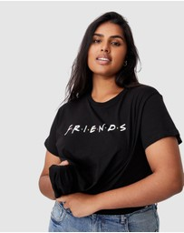 Cotton On Curve - Curve Licensed Friends Graphic Tee