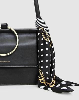 Belle & Bloom Fashion Scarf 2 Pack - Scarves & Gloves (Blush & Black)
