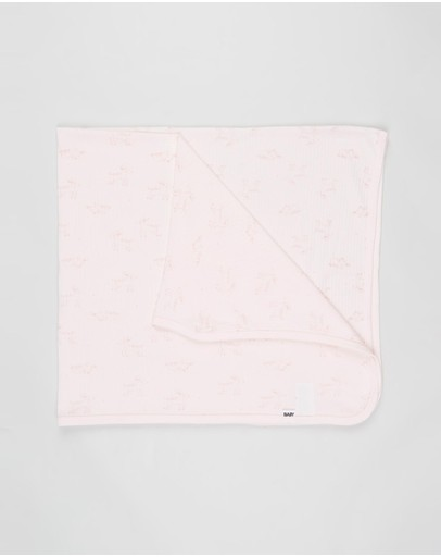 Cotton On Baby - Organic Newborn Blanket
