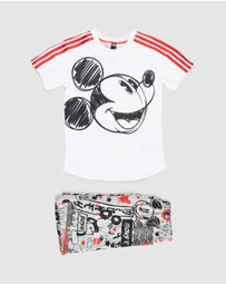adidas Performance - Disney Mickey Mouse Summer Set - Babies-Kids