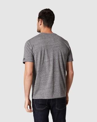 Blazer - Denver Melange Classic Tee Short Sleeve T-Shirts (Charcoal Marle)