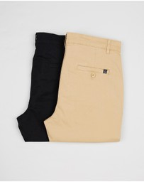 2-Pack Staple Chinos