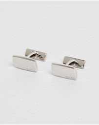 HUGO - Rectangular Cufflinks with Fix Fastening