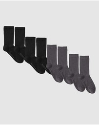 4 Pack Everyday Socks