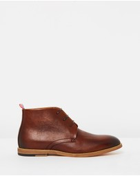 Double Oak Mills - Kenny Leather Lace Up Boots