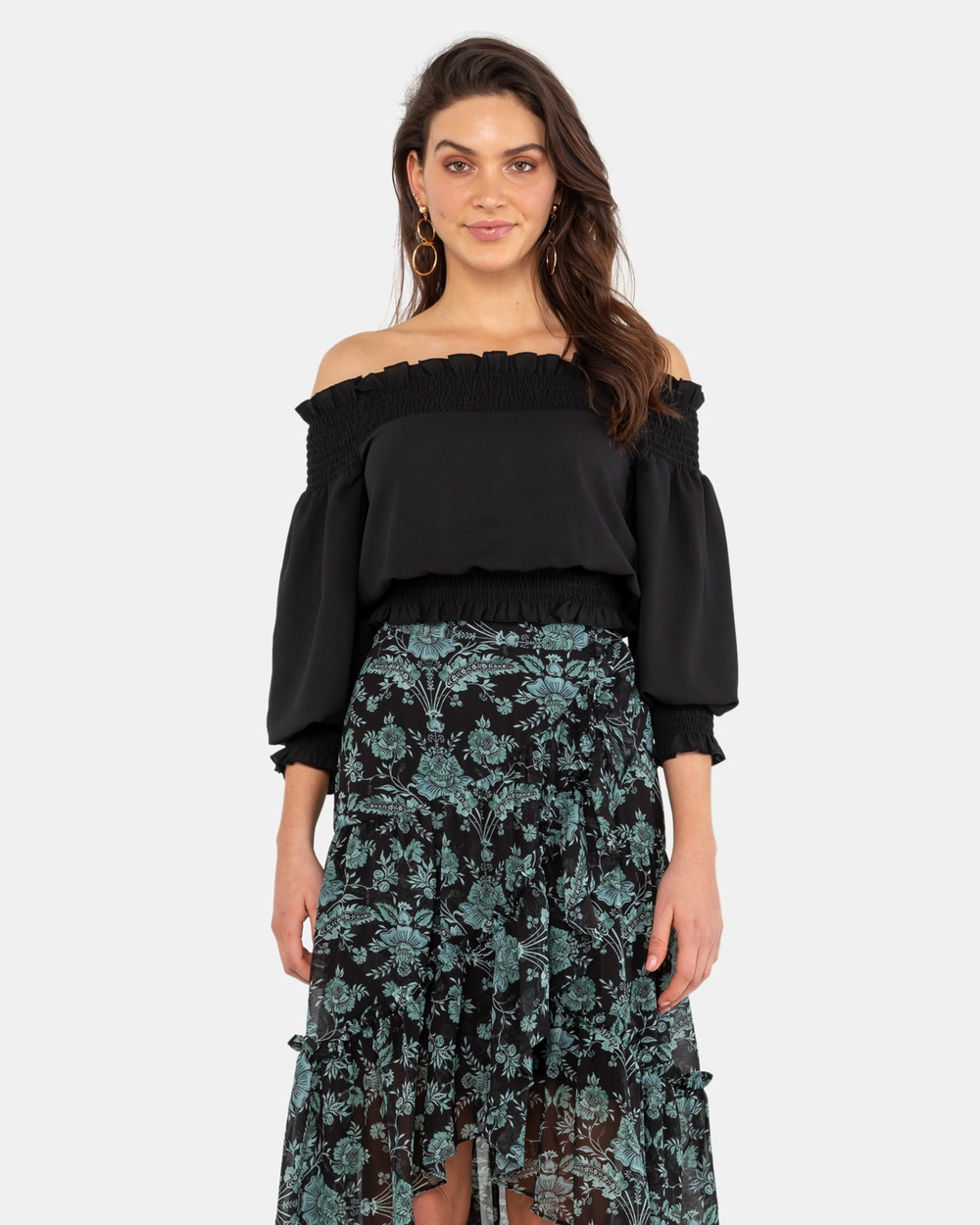 Rodeo Show Ella Top Tops Black Ella Top