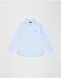 Polo Ralph Lauren - Slim Fit Pinpoint Oxford Shirt - Kids
