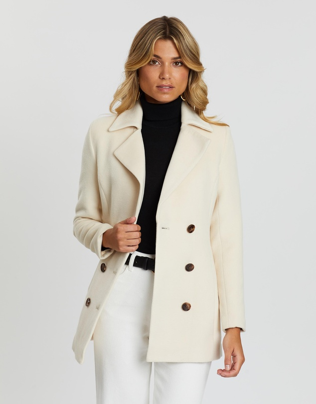 Atmos&Here - Sarah Double-Breasted Coat